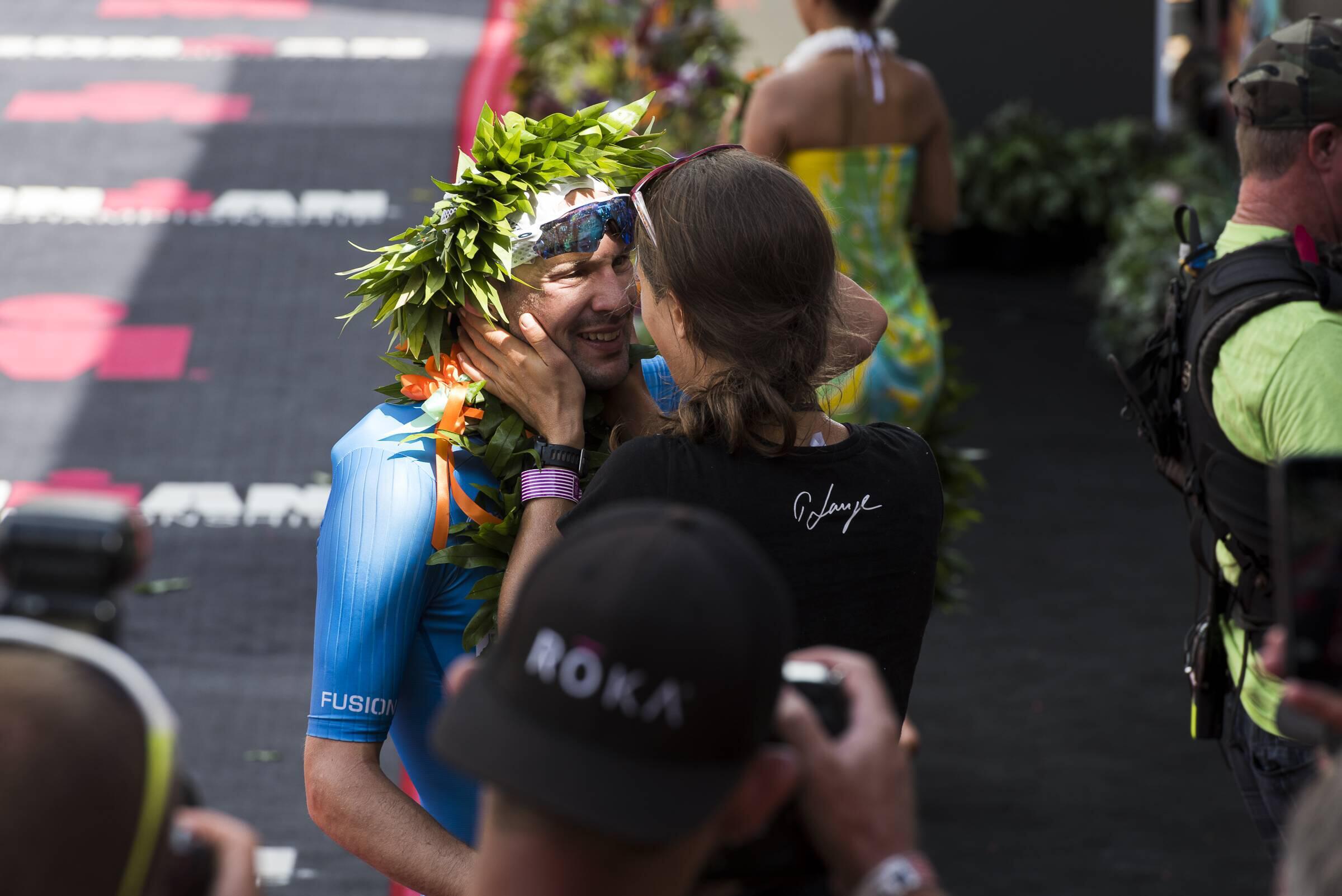 Bild zu Patrick Lange, Ironman, hawaii, Triathlon, heiratsantrag