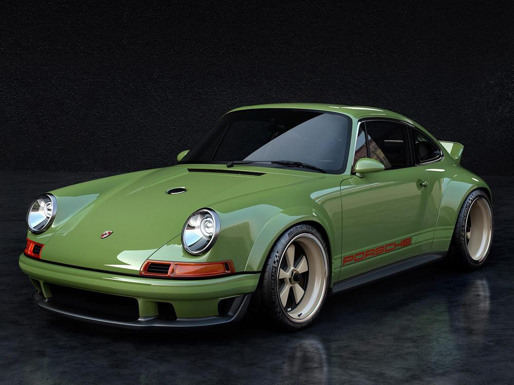 Bild zu Singer Dynamics and Lightweighting Study (DLS) auf Porsche-Basis