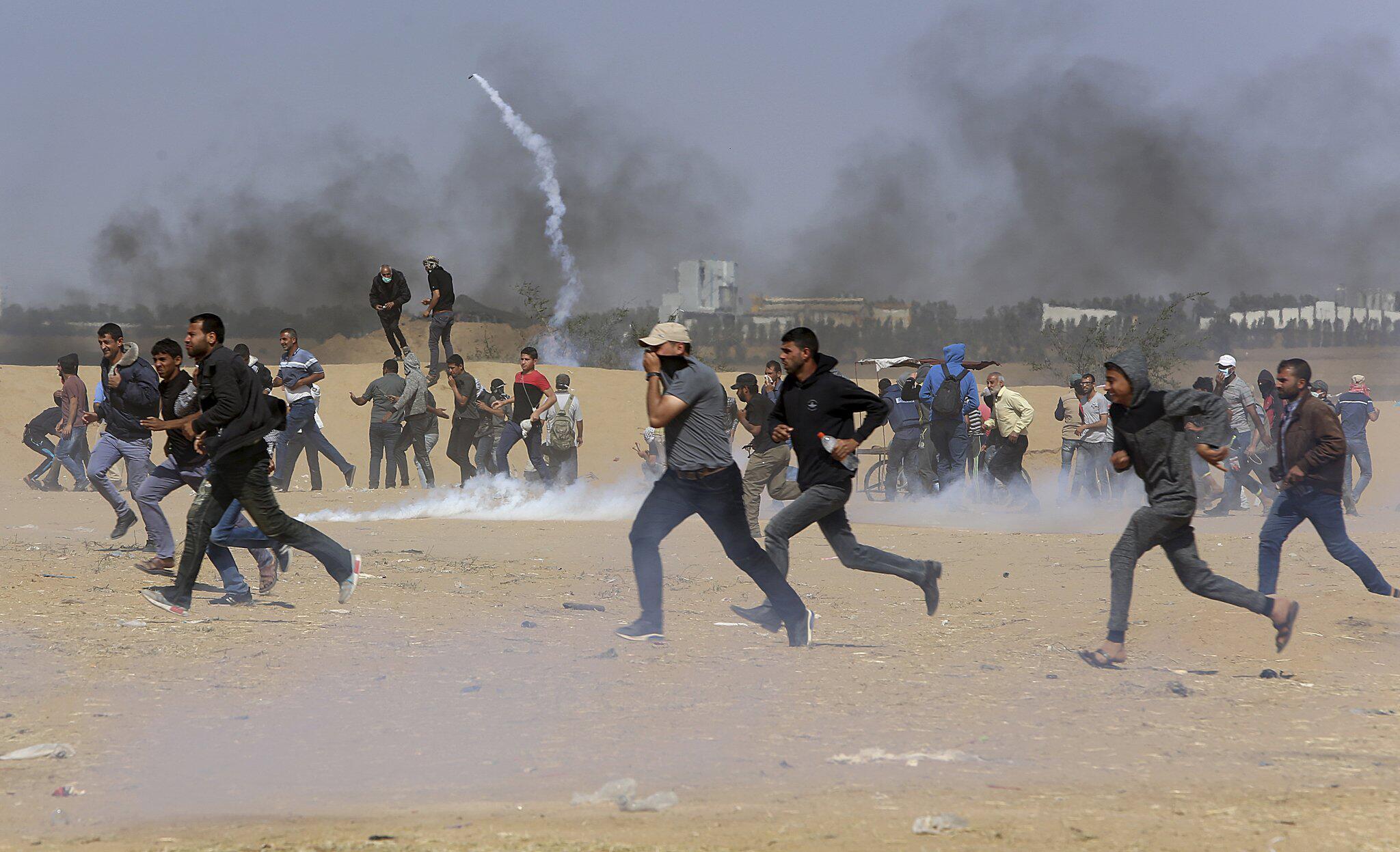 Bild zu Protest, Gaza, Israel, Palästina