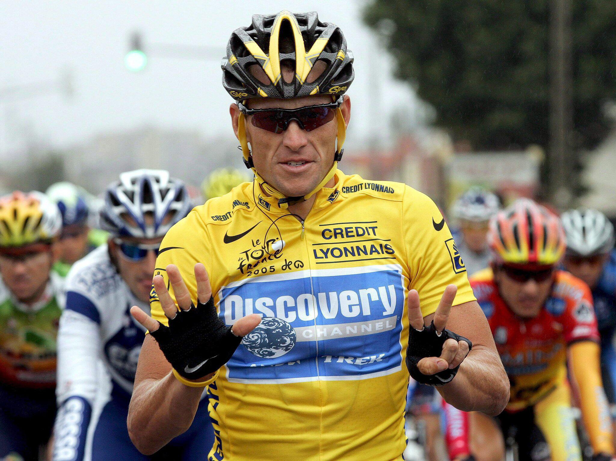 Bild zu Lance Armstrong, Tour de France, 2005