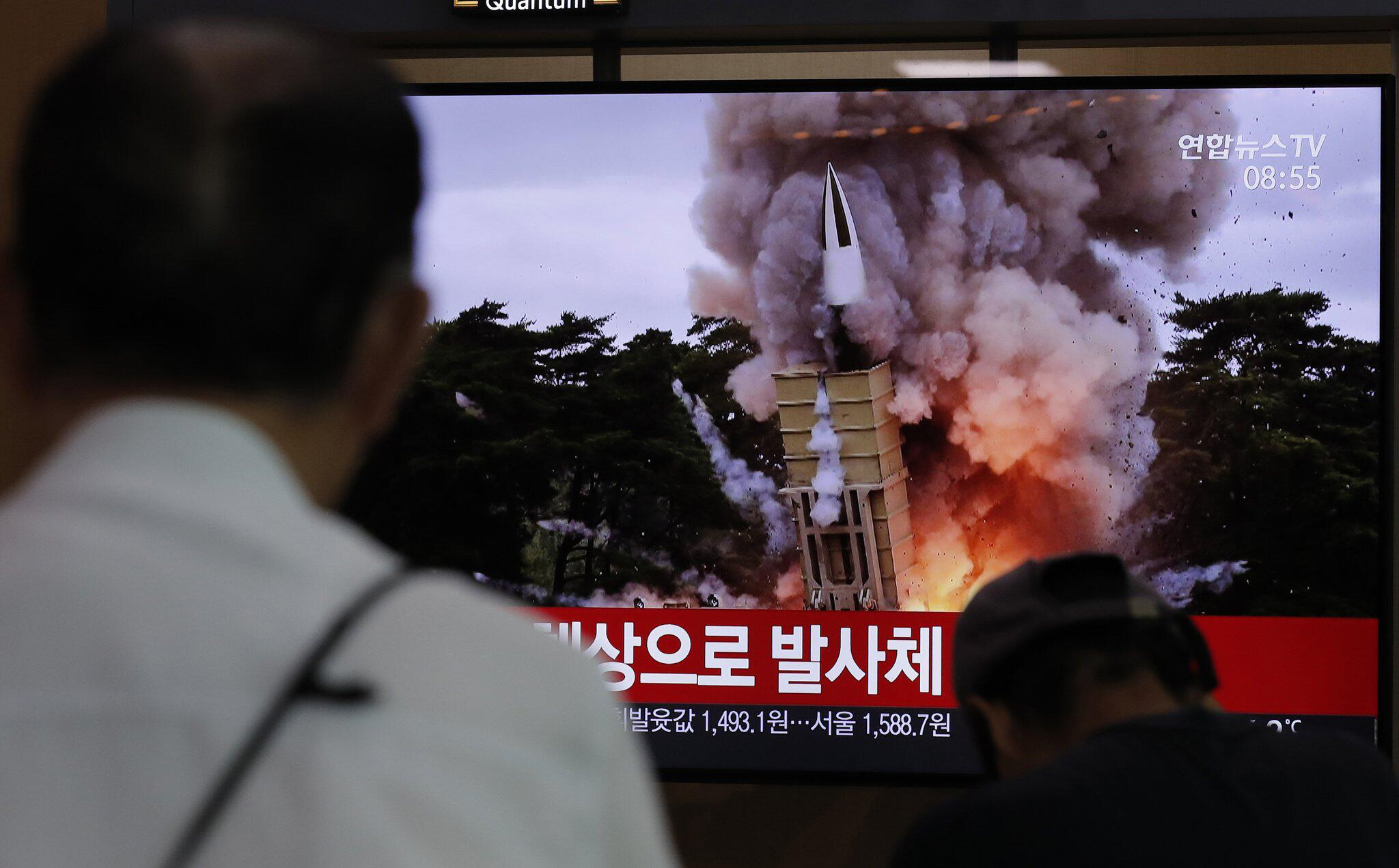 Bild zu Nordkorea setzt Raketentests fort