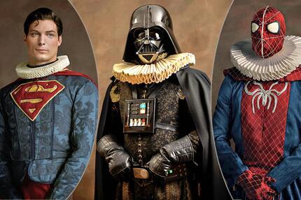 """""""Super Flemish"""": Superhelden in Strumpfhosen"""