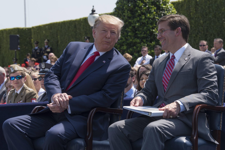 Bild zu Donald Trump, USA, Präsident, Verteidigungsminister, Mark Esper
