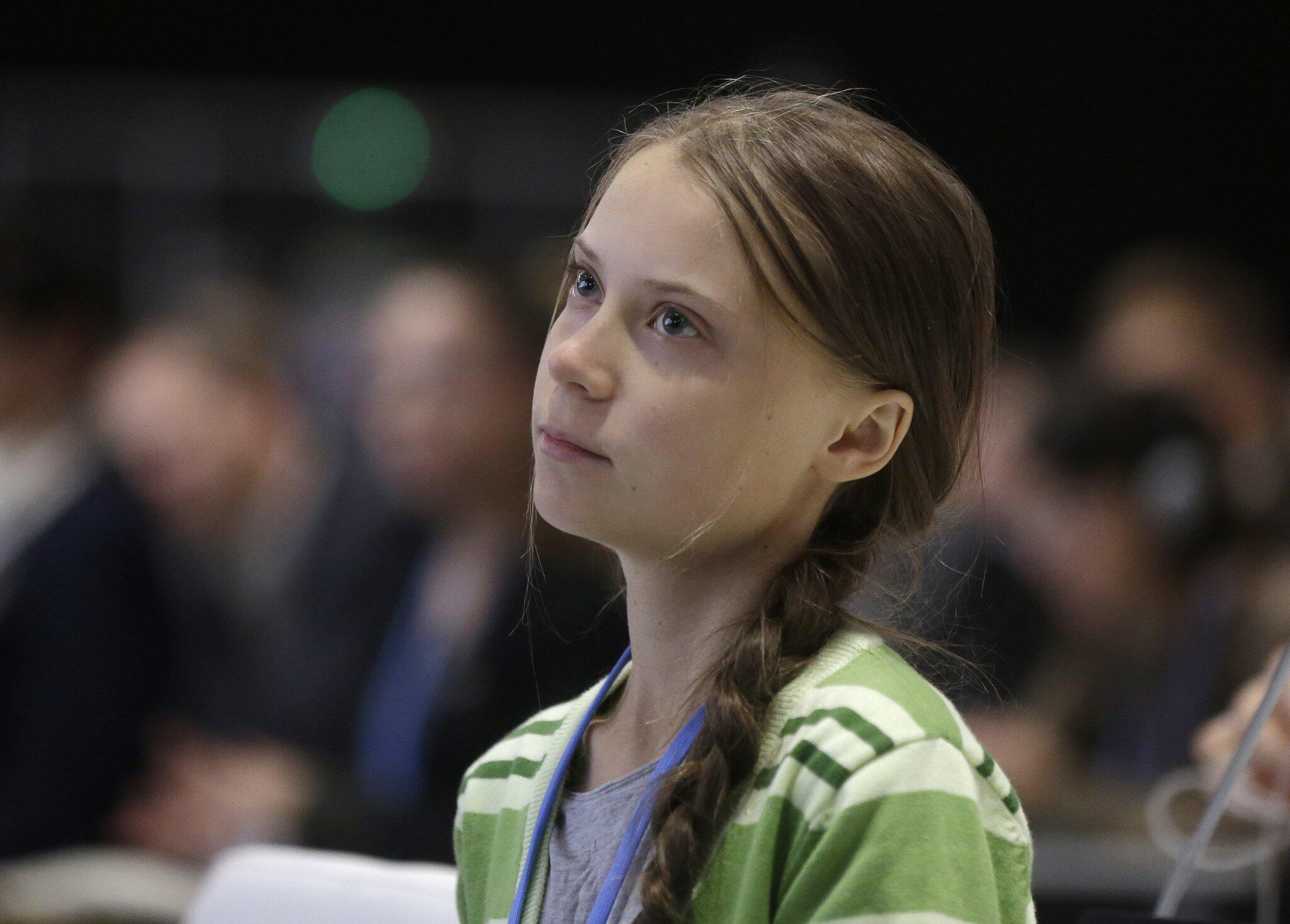 Bild zu Klimaschutzaktivistin Greta Thunberg