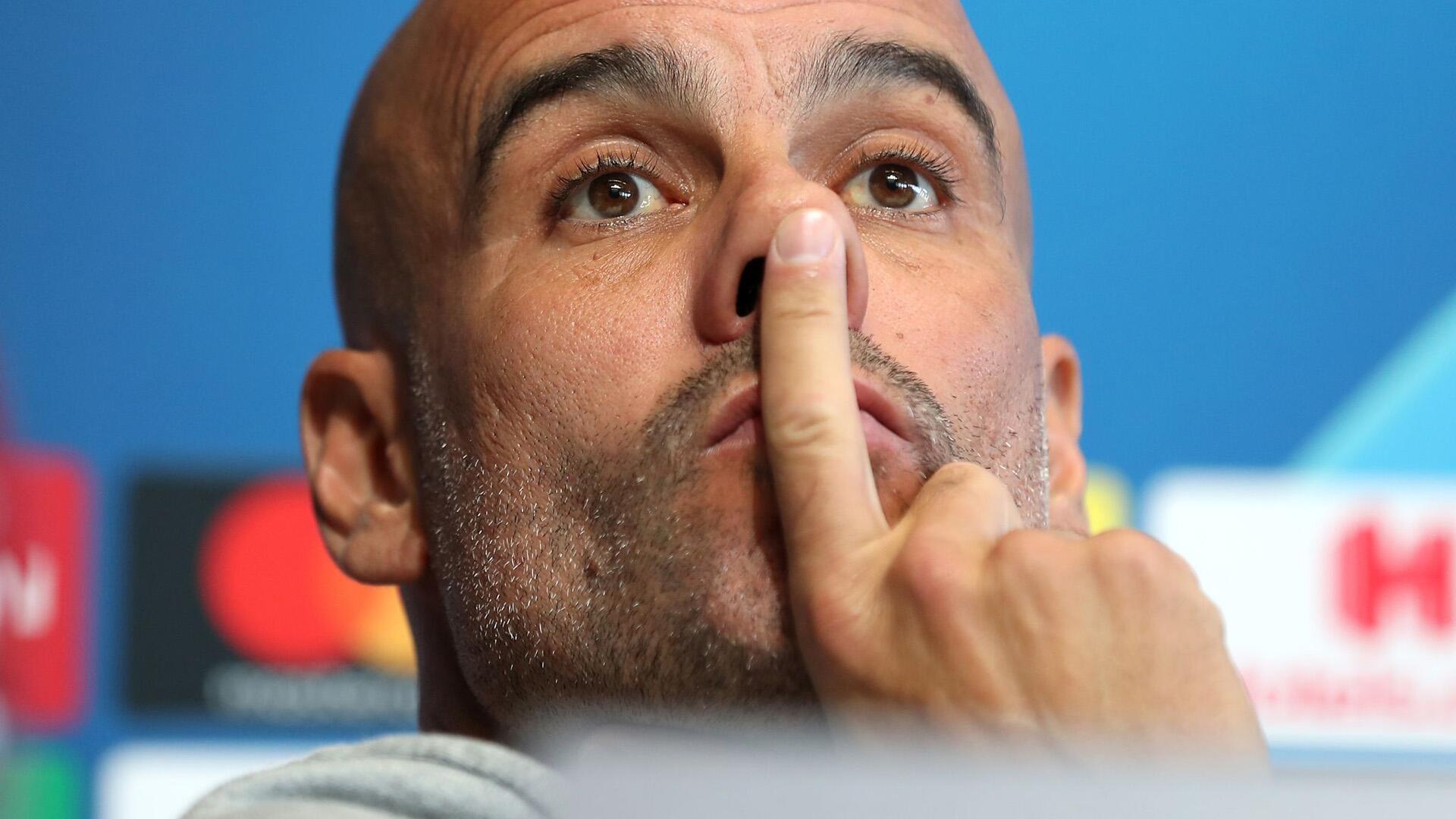 Bild zu Pep Guardiola