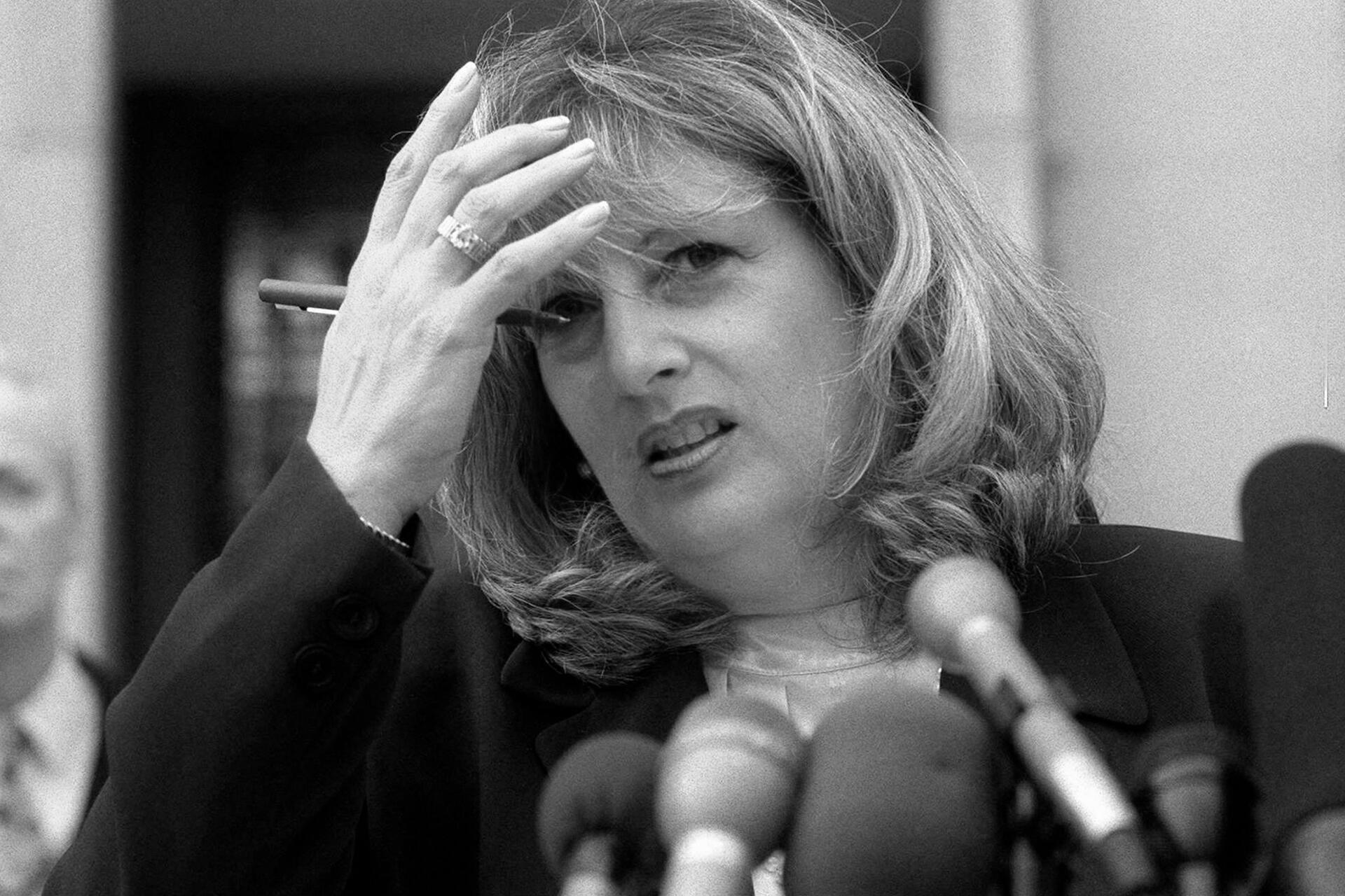 Bild zu Schlüsselfigur in Lewinsky-Affäre Linda Tripp ist tot