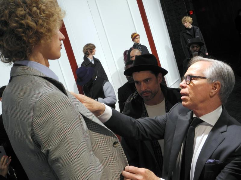 Bild zu New York Fashion Week -Tommy Hilfiger
