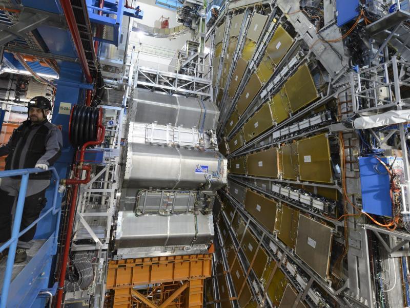 Bild zu Teilchenbeschleuniger