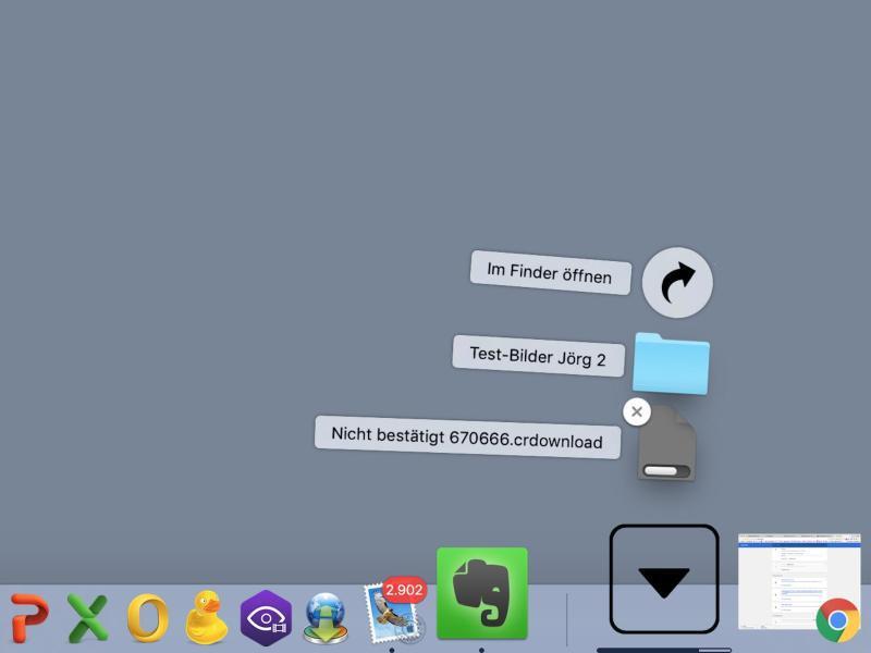 Bild zu Dock unter macOS