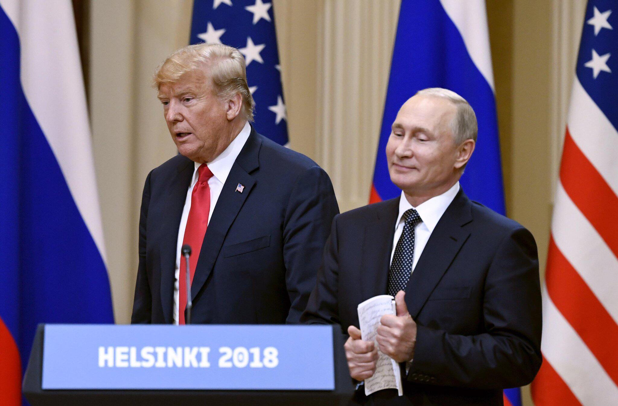 Bild zu Donald Trump, Wladimir Putin