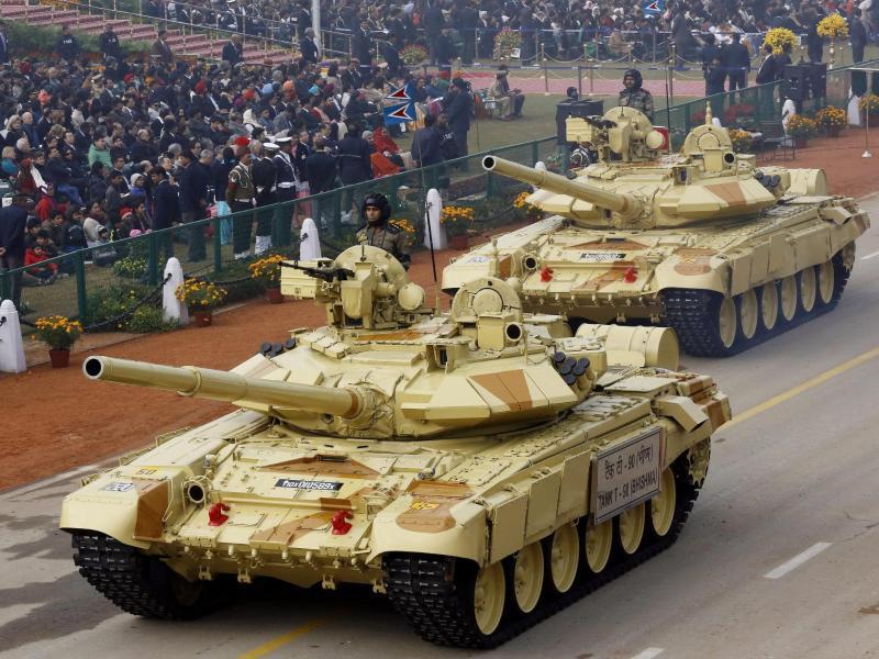 Bild zu Panzer in Neu Delhi