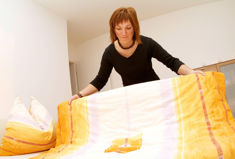 Bild zu Bett, Hausstaubmilben