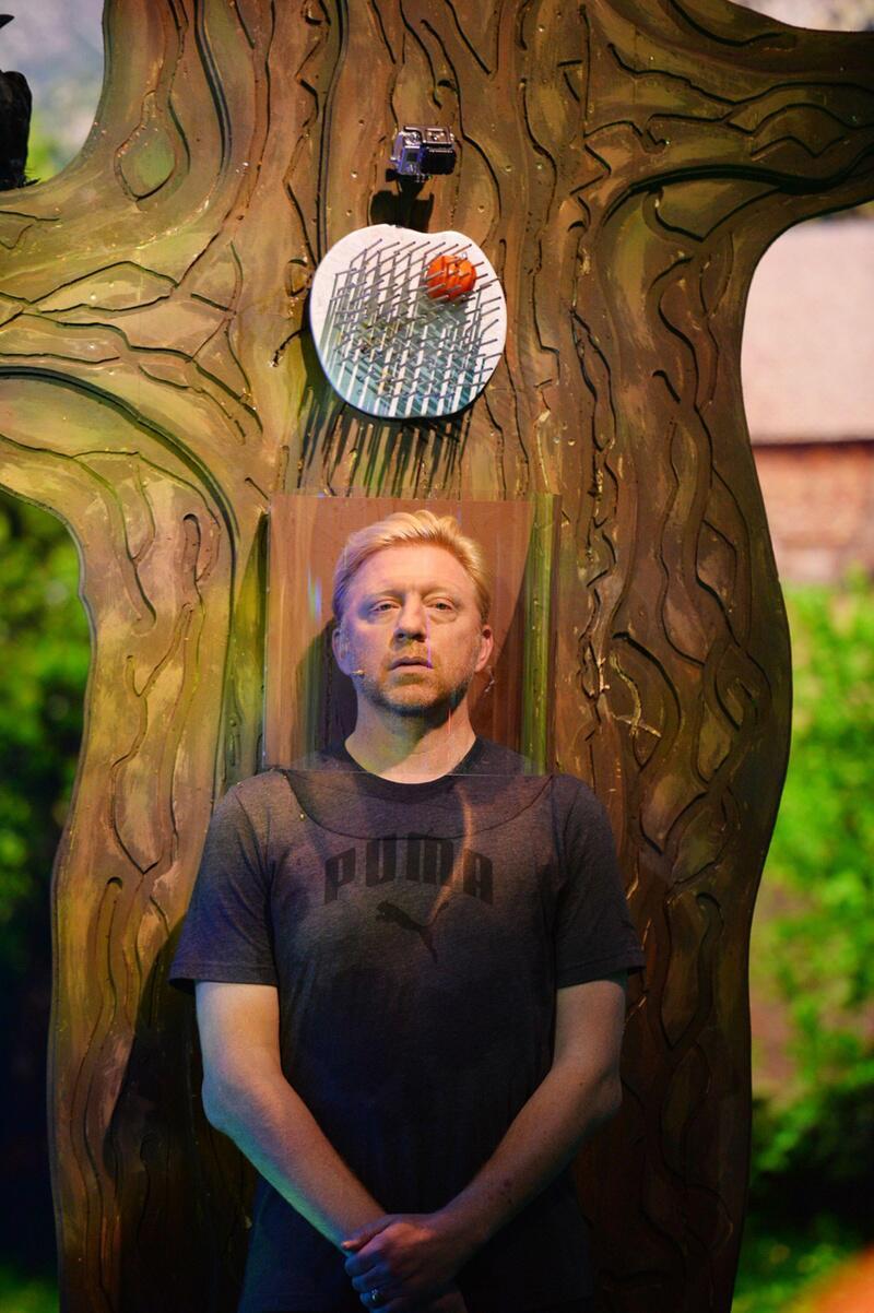 Bild zu Boris Becker bleibt entspannt