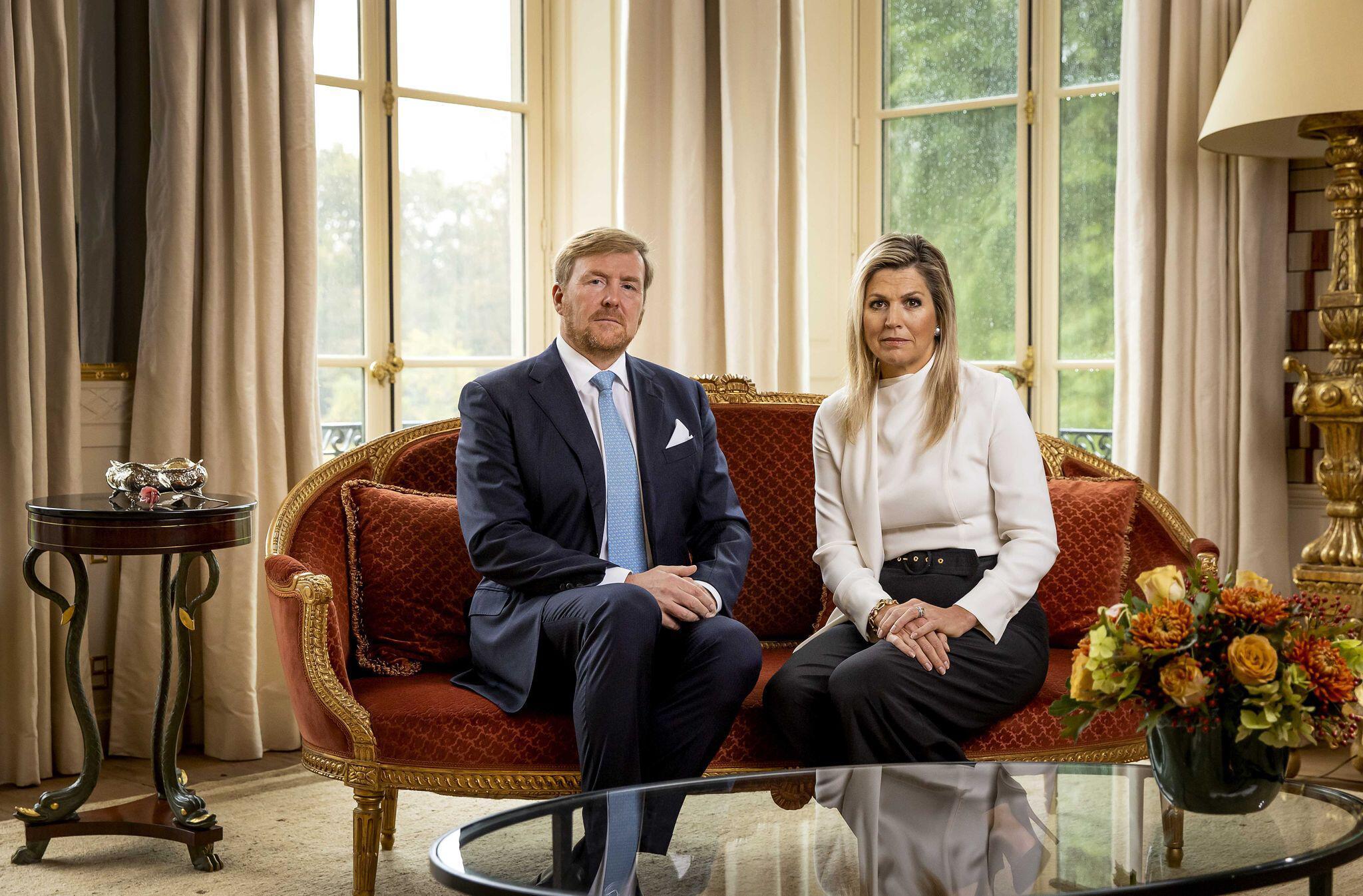Bild zu Niederländischen Königspaars