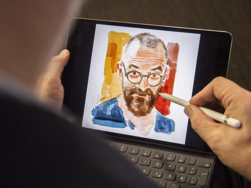 Bild zu Zeichnen mit dem Apple Pencil