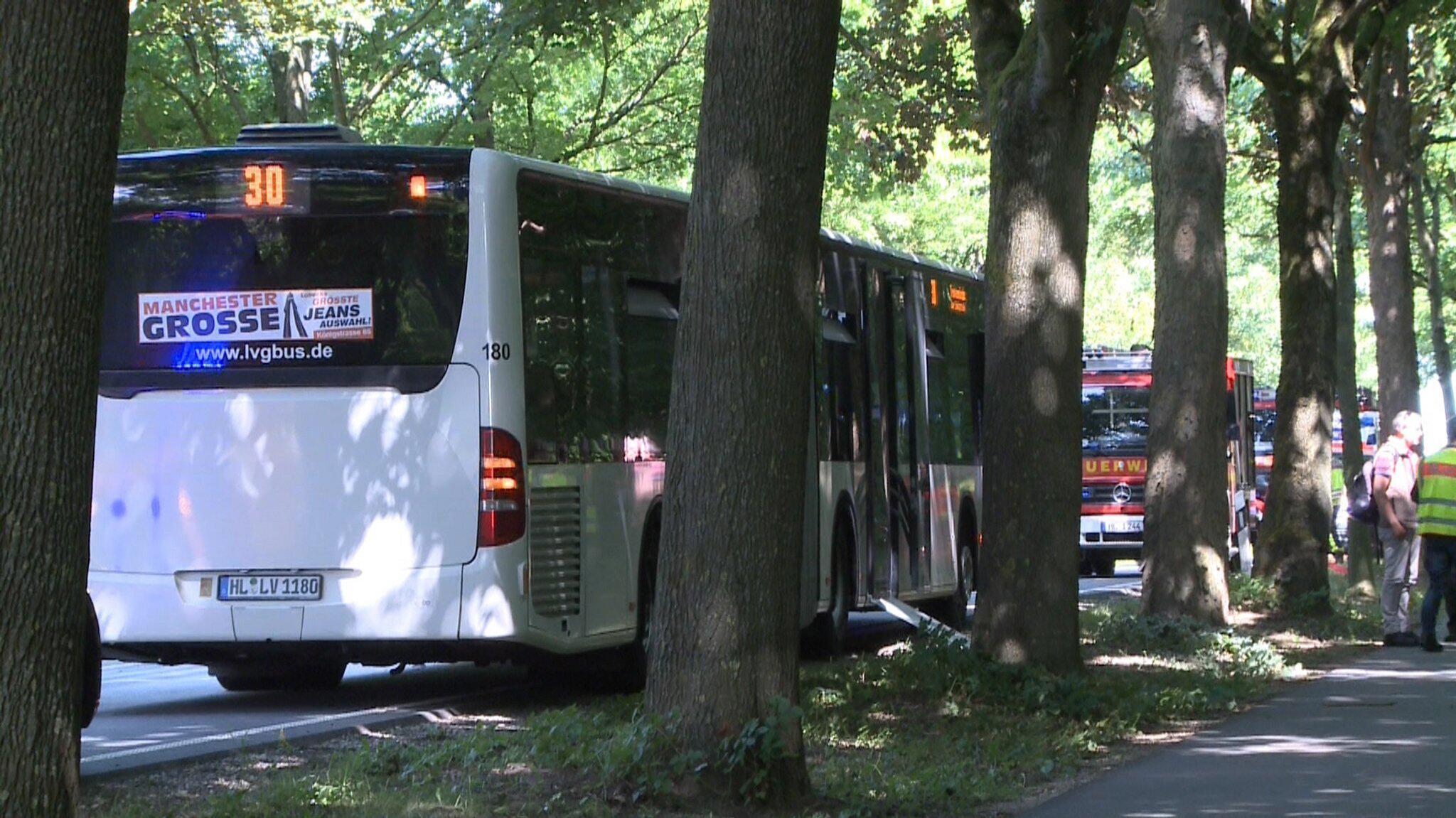 Bild zu Gewalttat in Linienbus in Lübeck