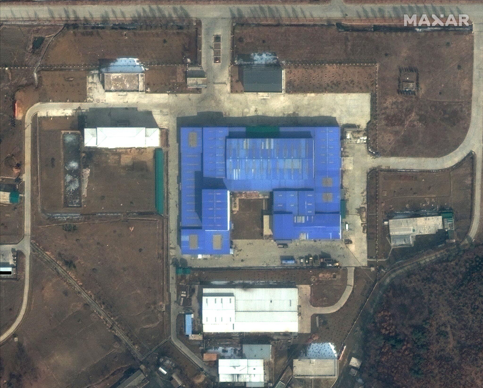Bild zu Satellitenbilder zeigen möglichen Raketenbau in Nordkorea