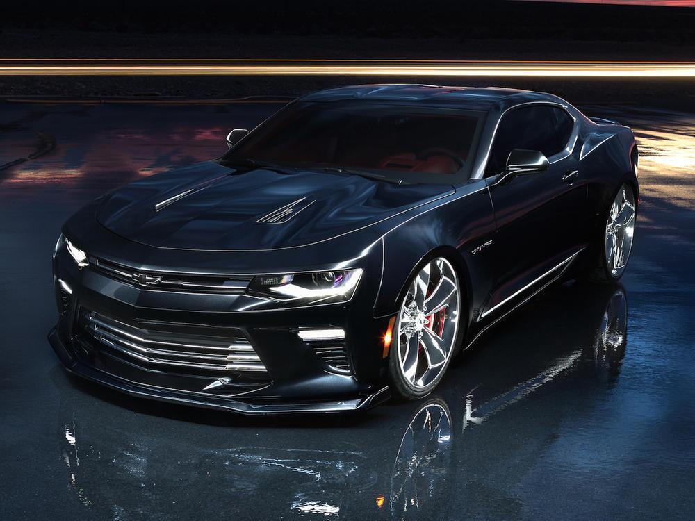 Bild zu Chevrolet Camaro SS Slammer Concept