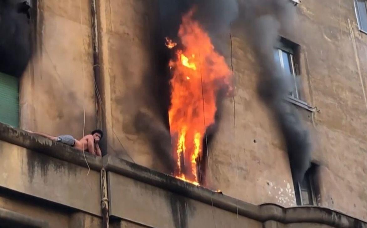Bild zu Feuer in Rom
