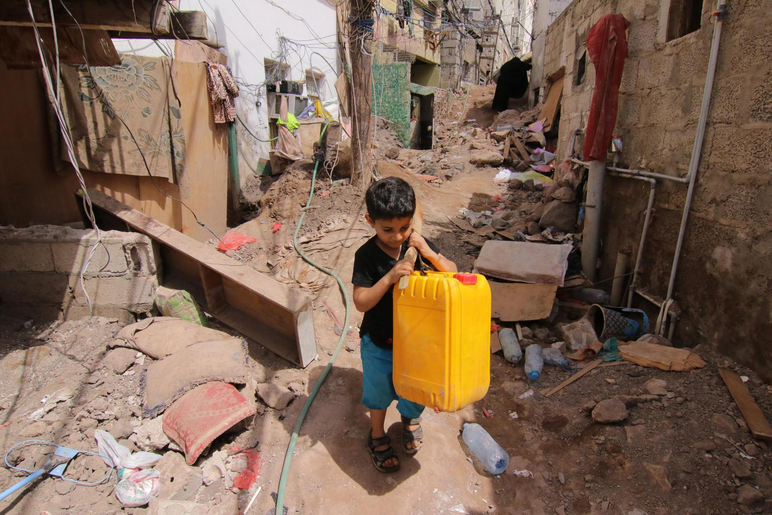 Bild zu Wasser, Trinkwasser, Jemen, Sanaa