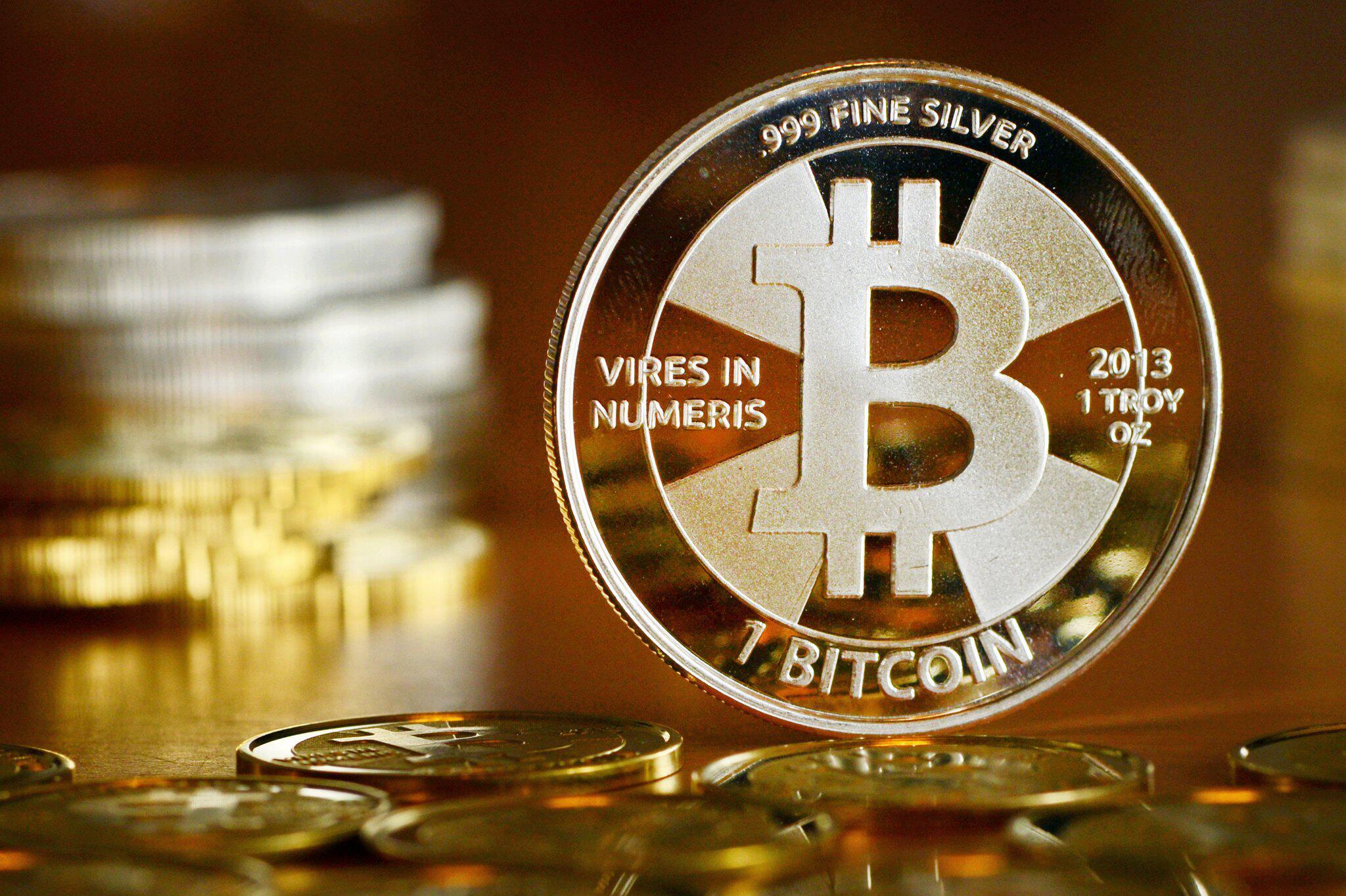 Bild zu Bitcoin-Münzen