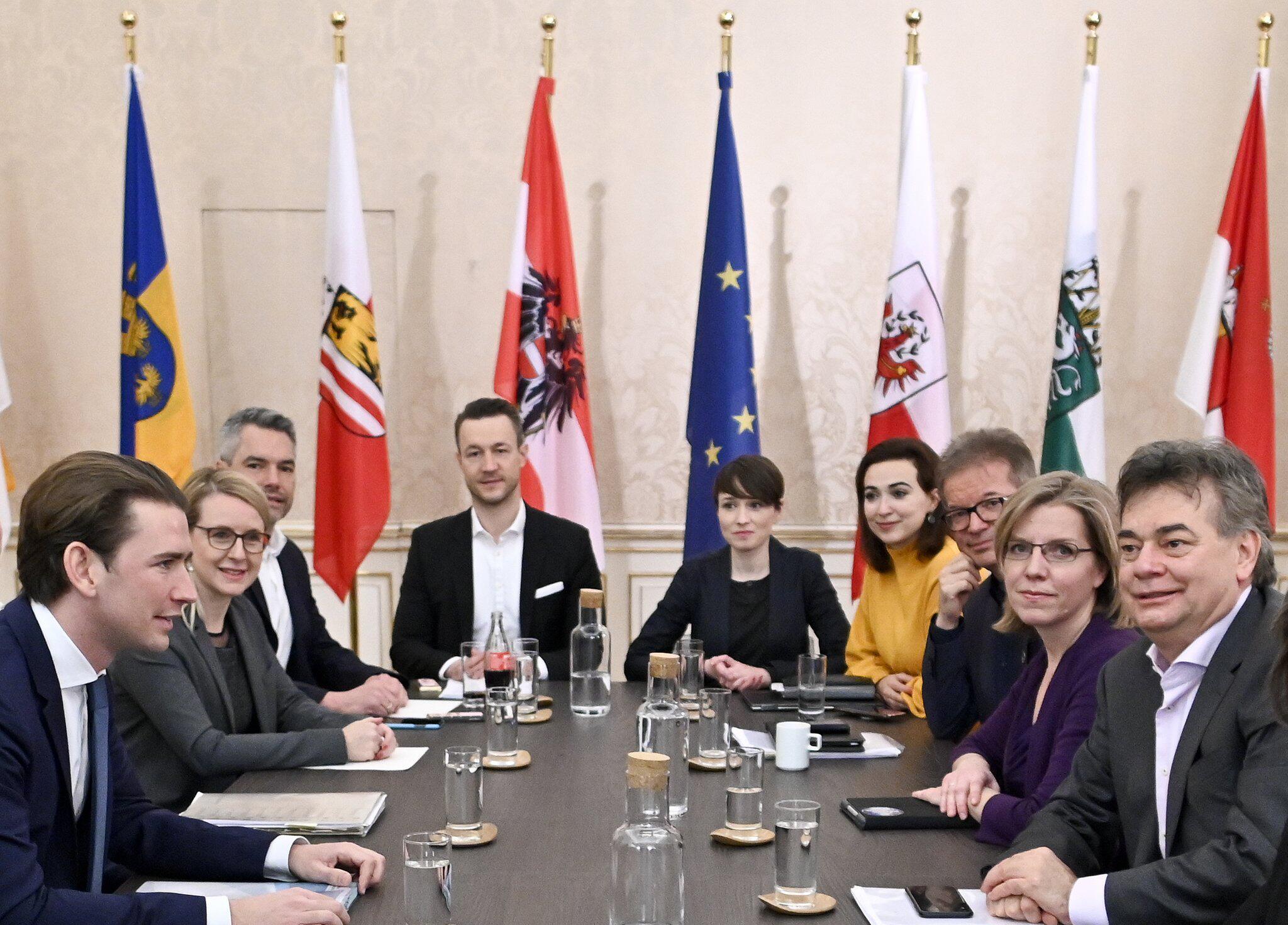 Bild zu Koalition Österreich - Koalitionsgespräche
