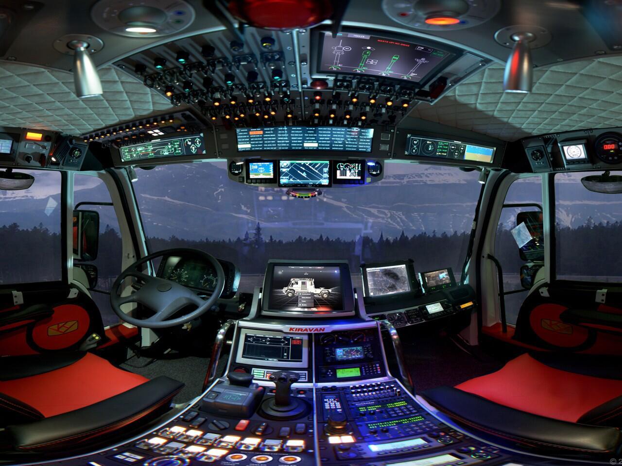 Bild zu Blick ins Cockpit