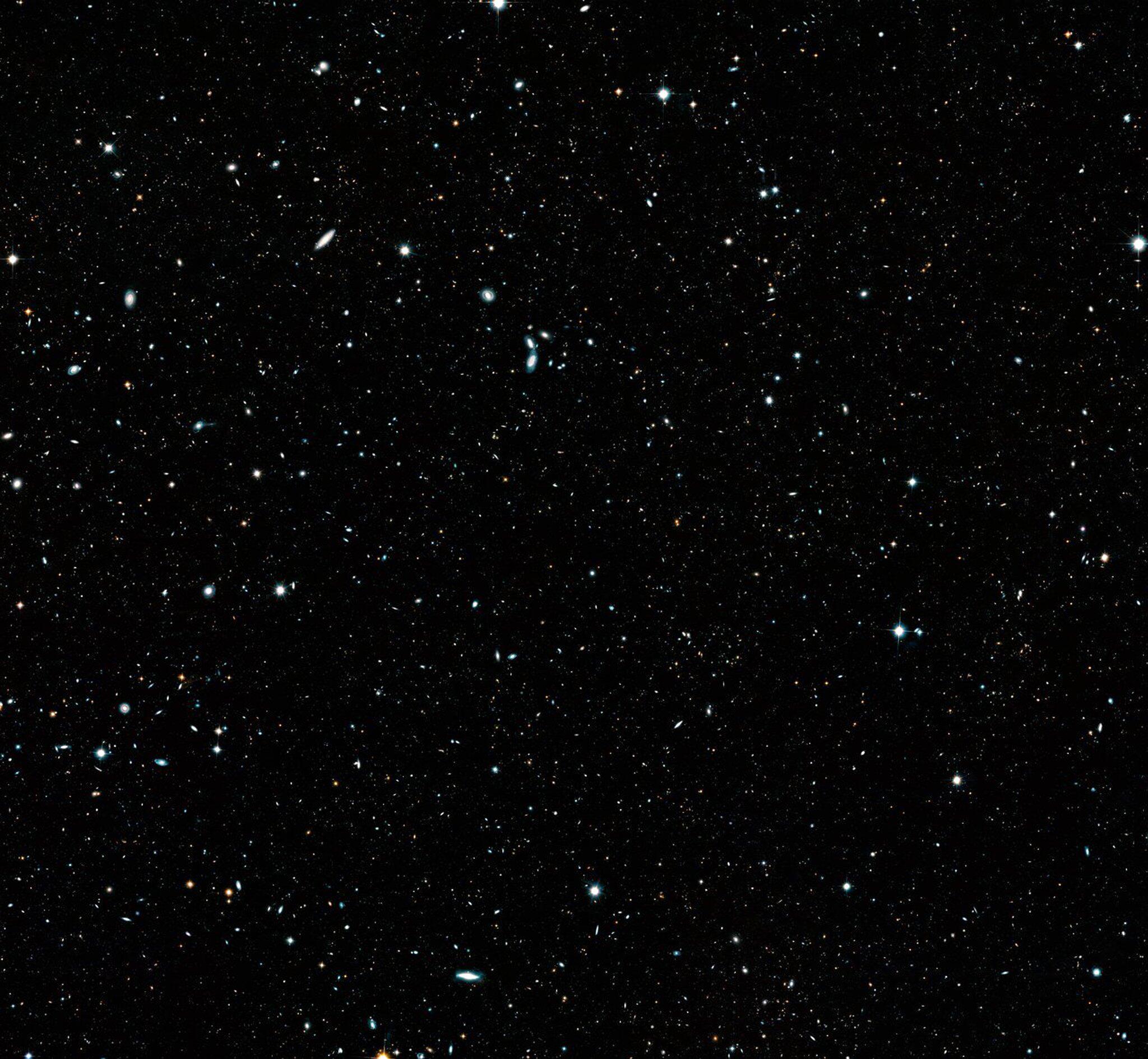 Bild zu «Hubble»-Bild mit 265 000 Galaxien