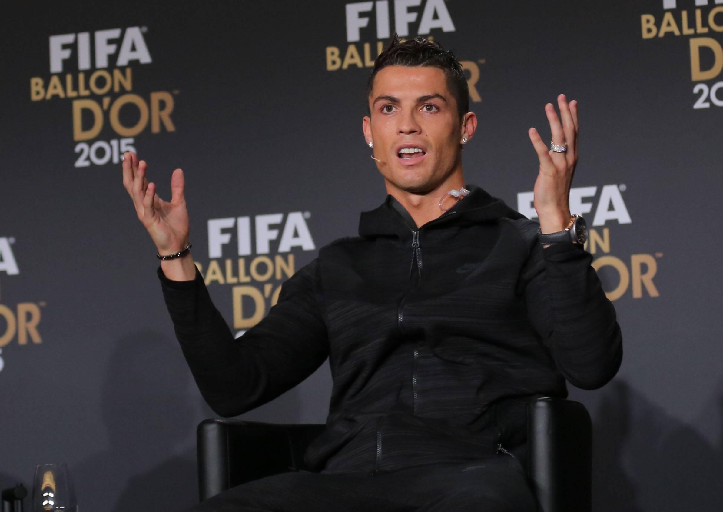 Bild zu Cristiano Ronaldo, FIFA, Weltfußballer