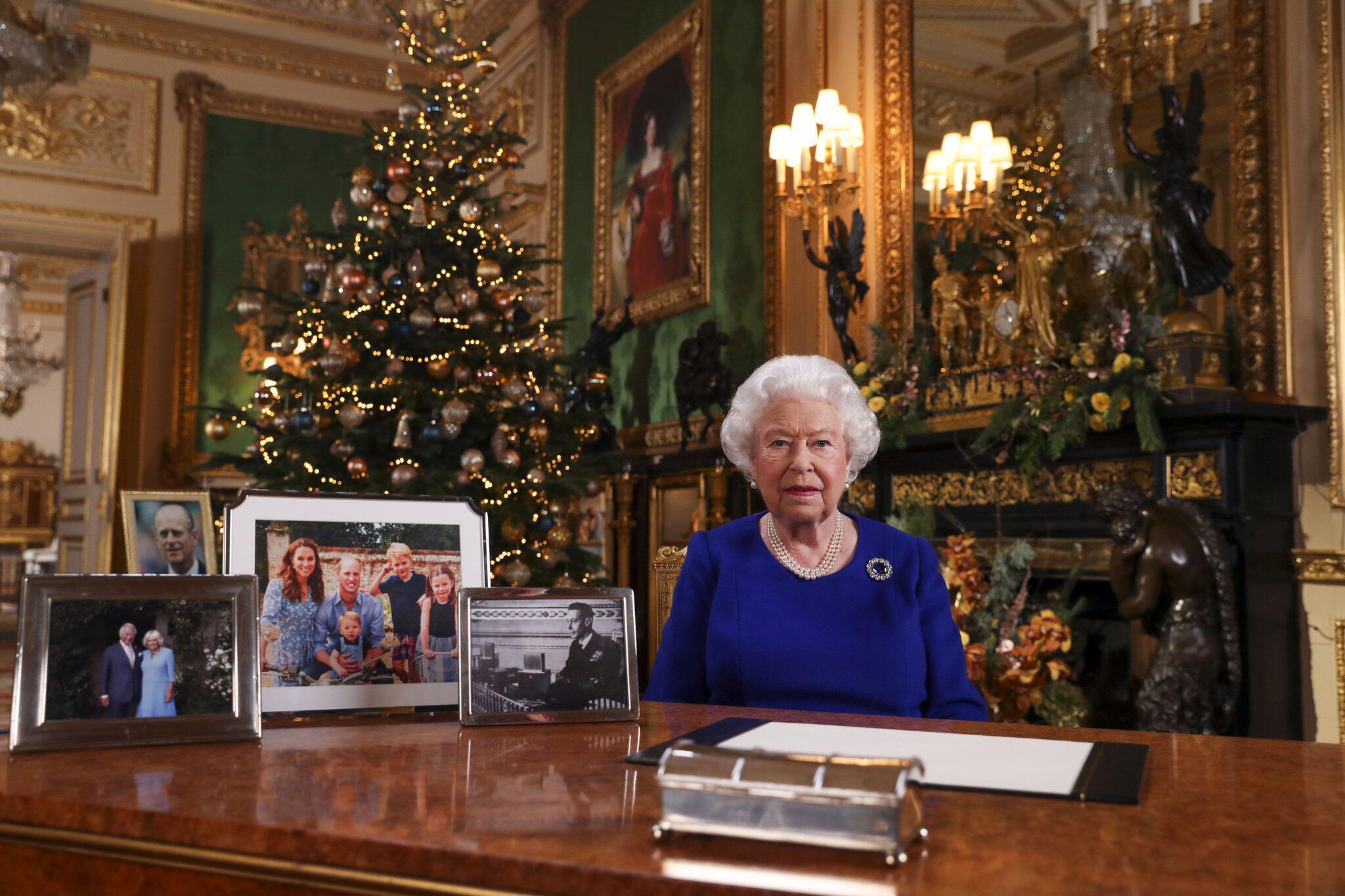 Bild zu Weihnachtsansprache der Queen