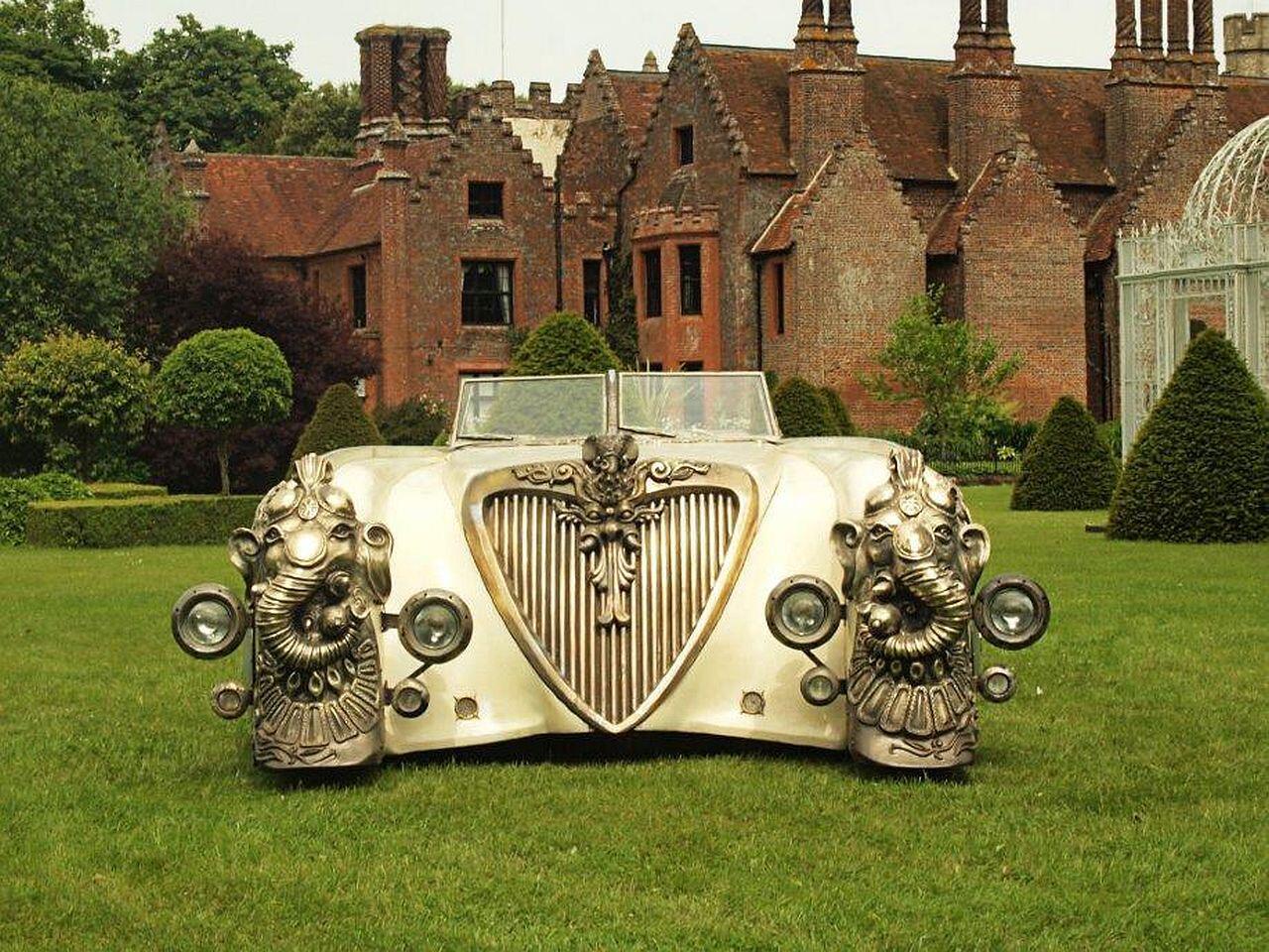 Bild zu Mehr Skulptur als Auto