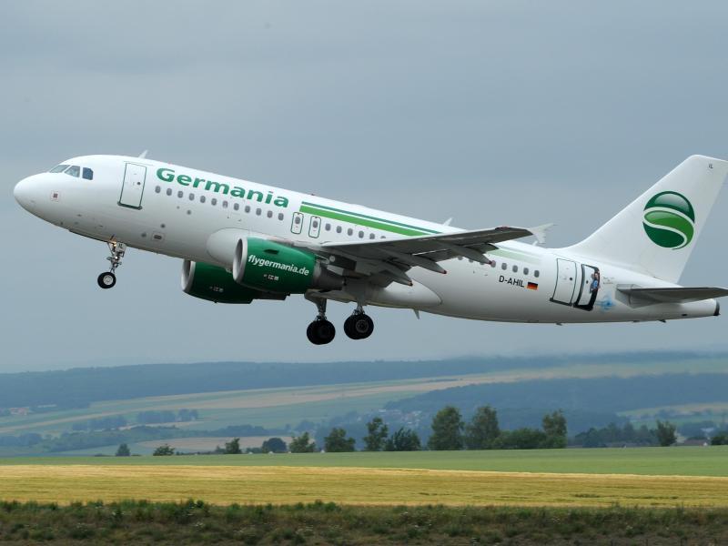 Bild zu Germania-Flugzeug