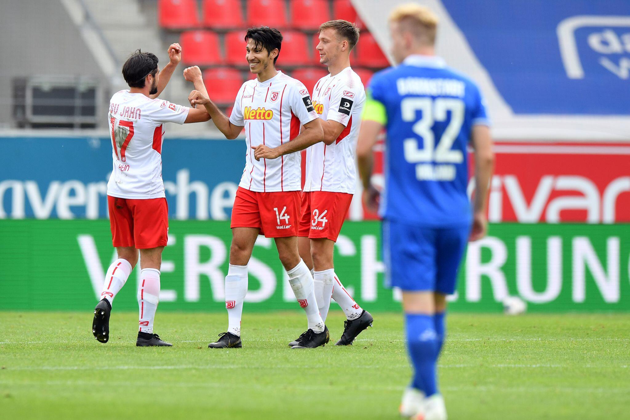 Bild zu SSV Jahn Regensburg - SV Darmstadt 98