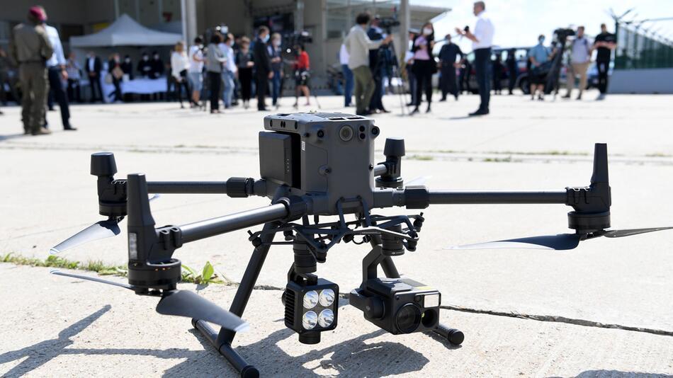Österreich testet Grenzüberwachung mit Drohnen