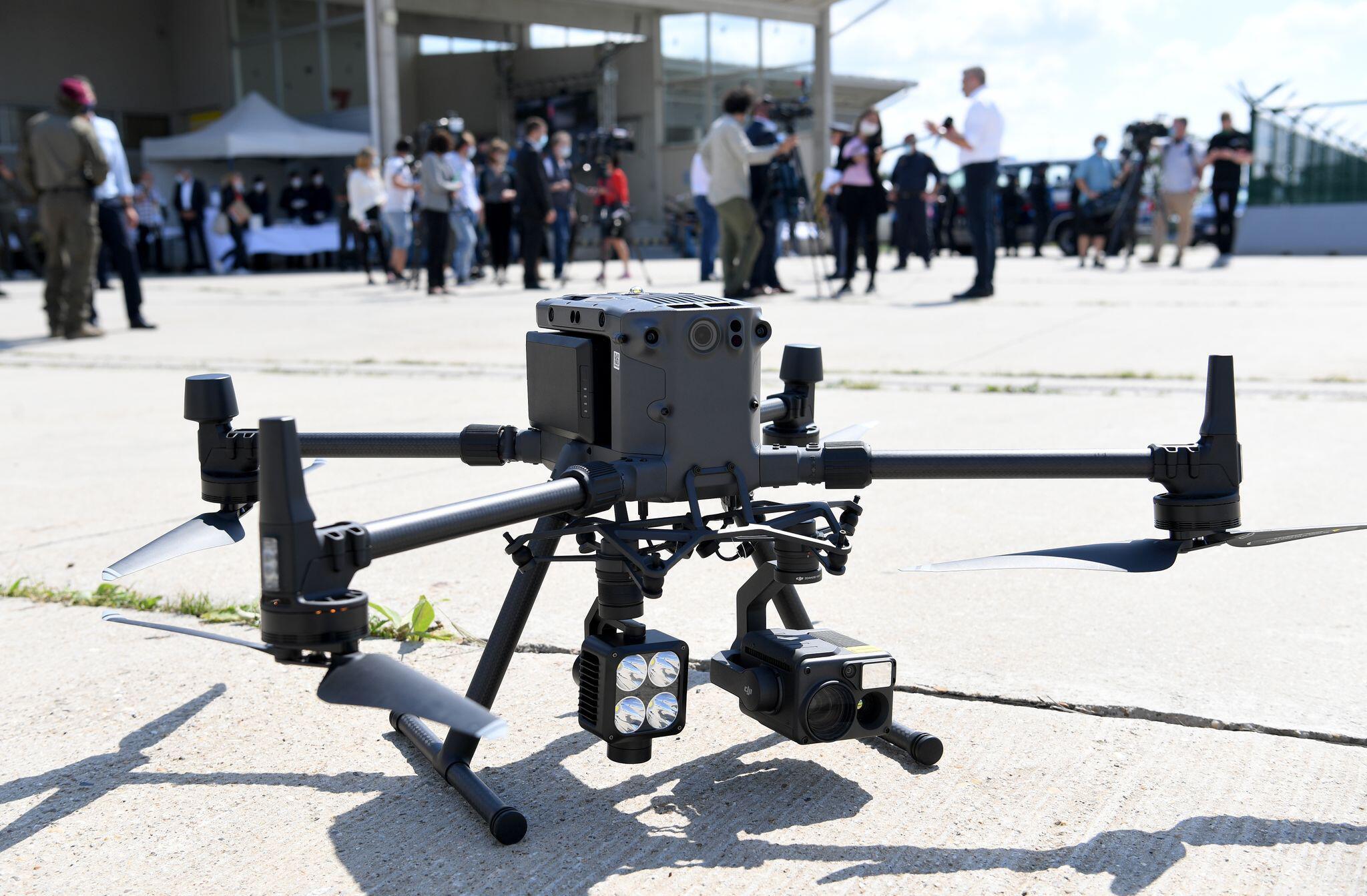 Bild zu Österreich testet Grenzüberwachung mit Drohnen