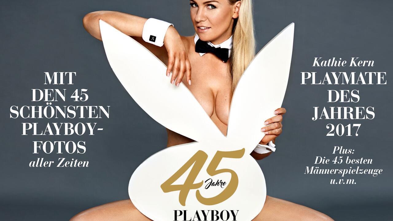 Bild zu Der deutsche Playboy wird 45 Jahre