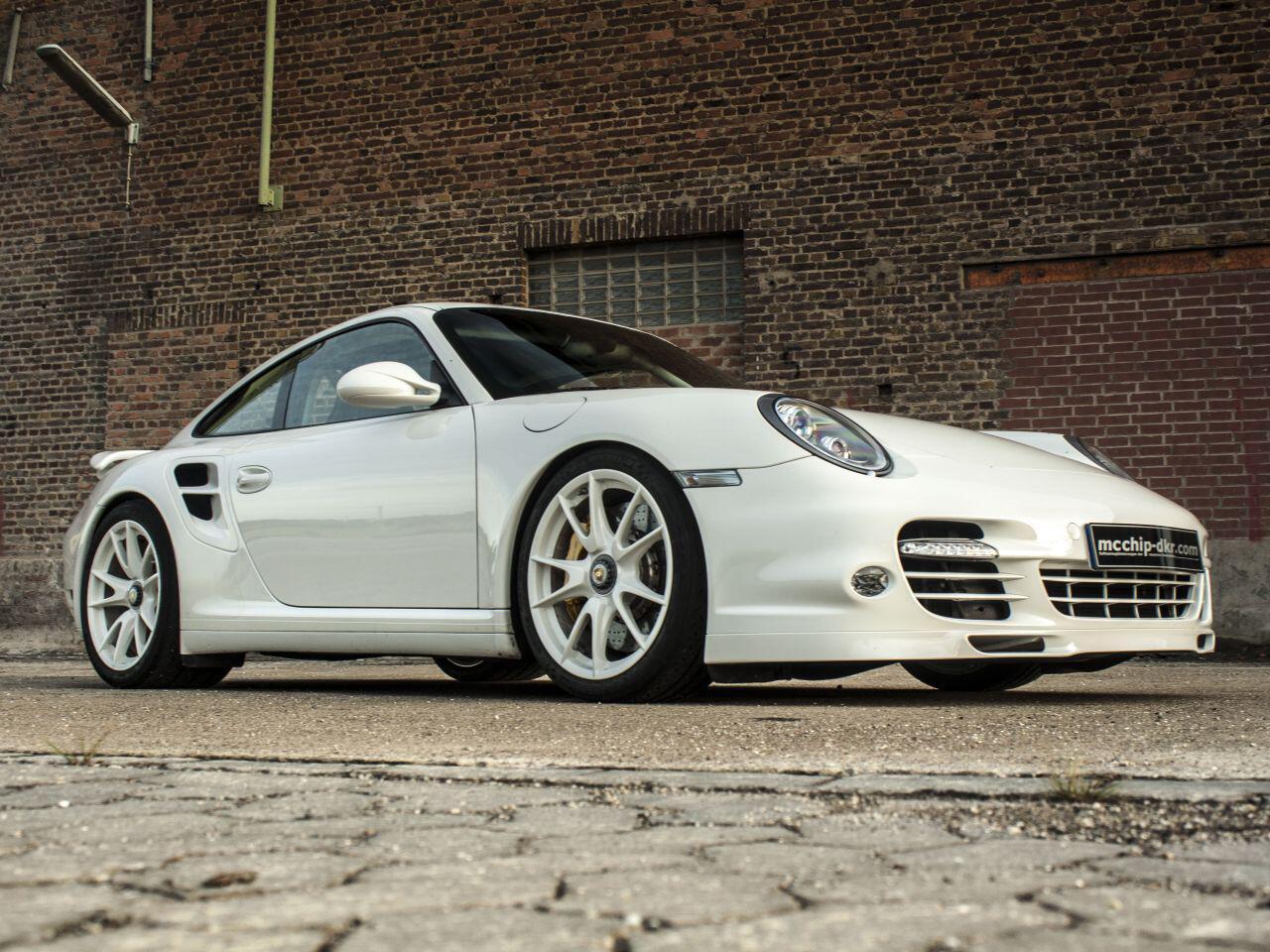 Bild zu Die Tuner spendierten dem potenten Porsche eine Leistungssteigerung