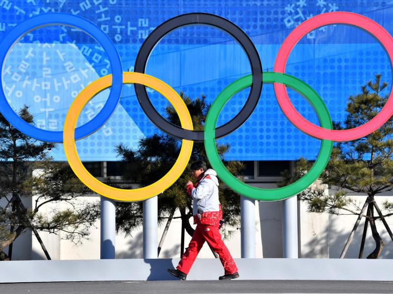 Bild zu Olympische Ringe
