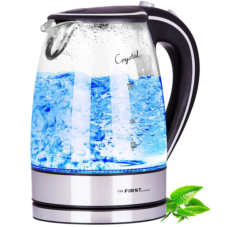 Bild zu wasserkocher, glas, edelstahl, unbedenklich, ohne plastik, bpa, gesund, bosch, wmf