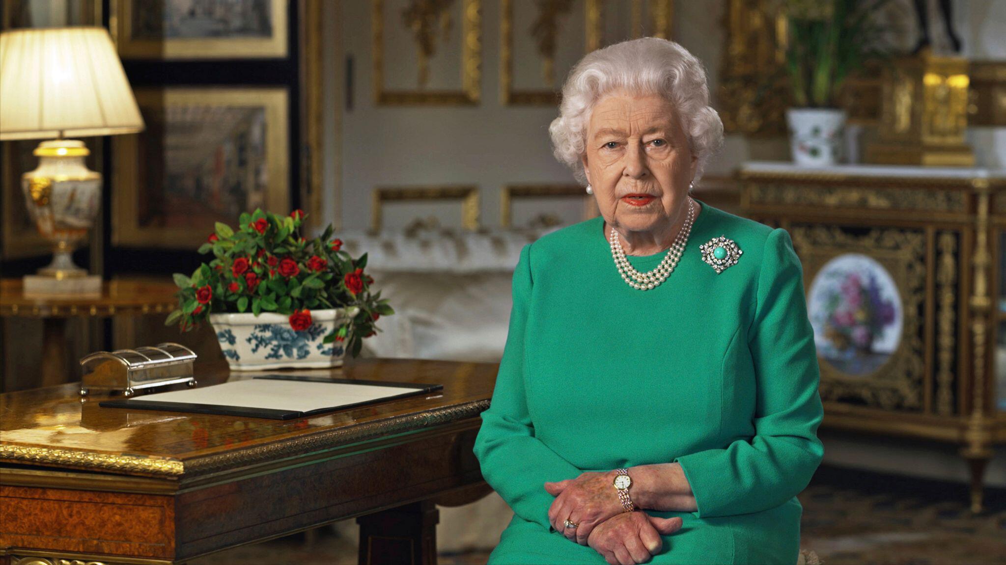 Bild zu Coronavirus - Ansprache der Queen