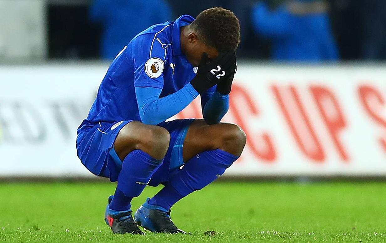 Bild zu Leicester City, Premier League, England, Fußball
