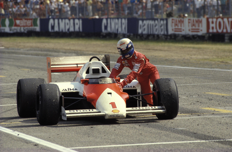 Bild zu Alain Prost, Hockenheim, Hockenheimring, McLaren, Großer Preis von Deutschland