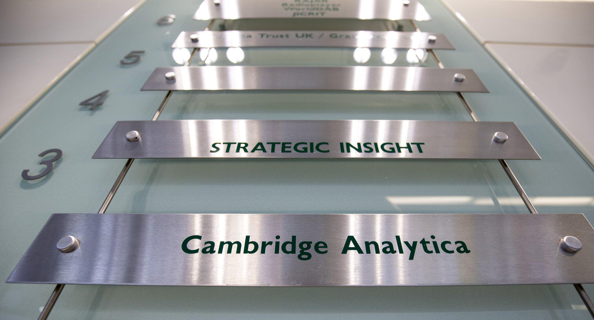 Bild zu Cambridge Analytica