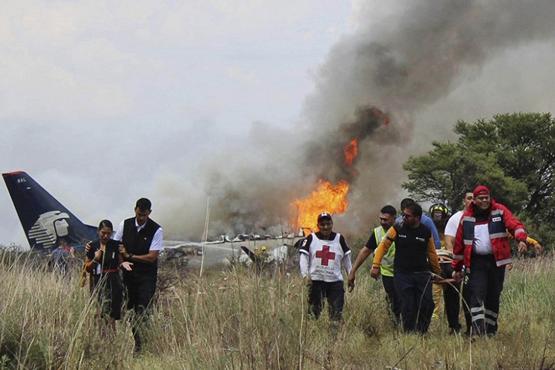 Bild zu Flugzeugunglück in Mexiko endet glimpflich