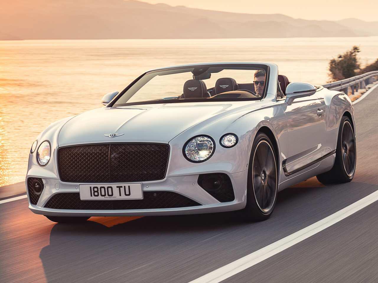 Bild zu Bentley Continental GT Cabrio: So edel wird die Neuauflage des Luxus-Cabrios