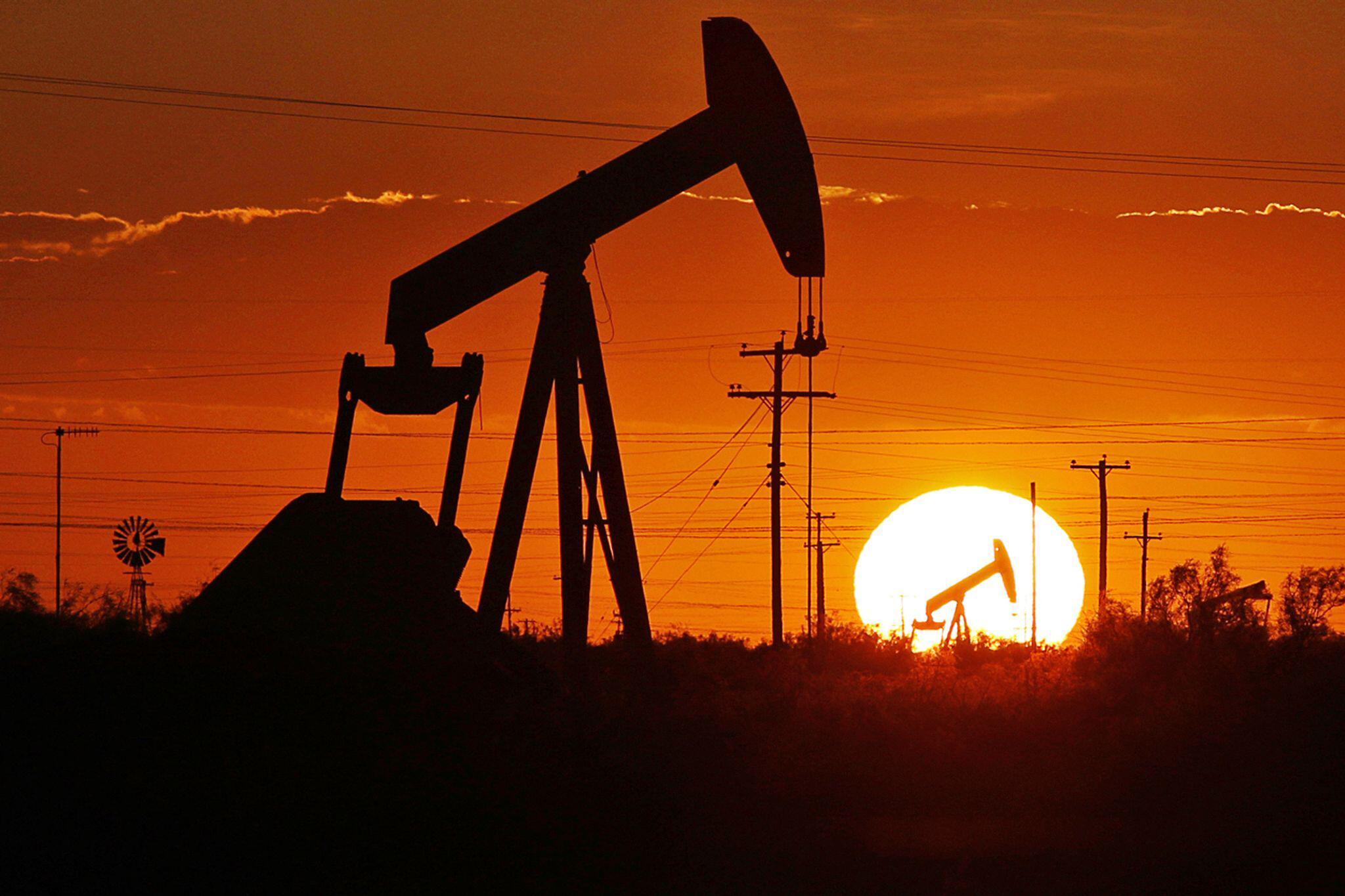 Bild zu Ölfeld in Texas