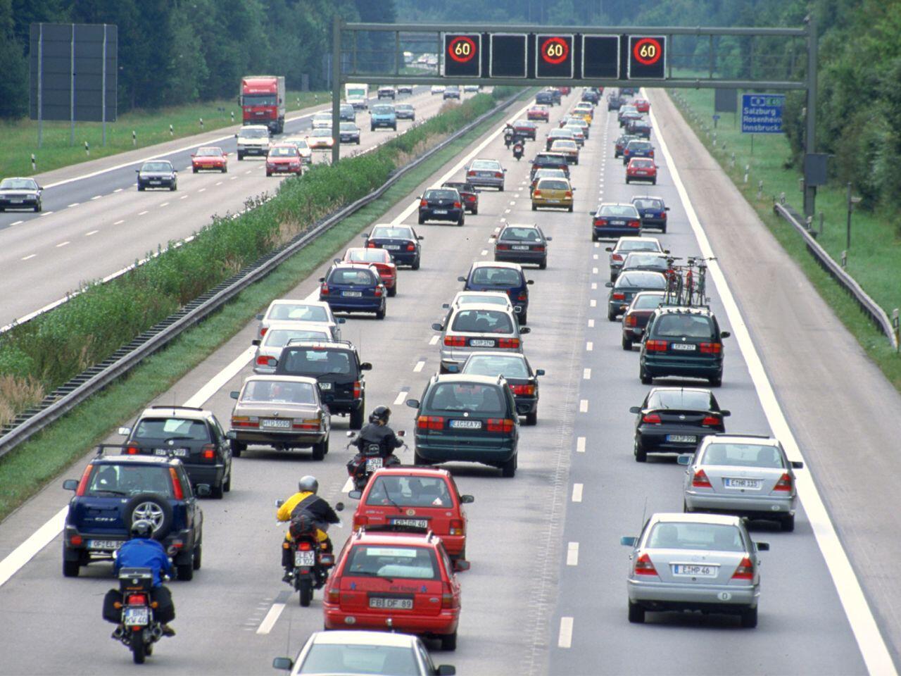Verkehr Stau