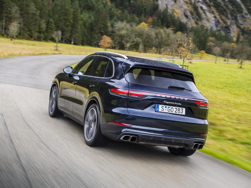 Bild zu Porsche Cayenne Turbo