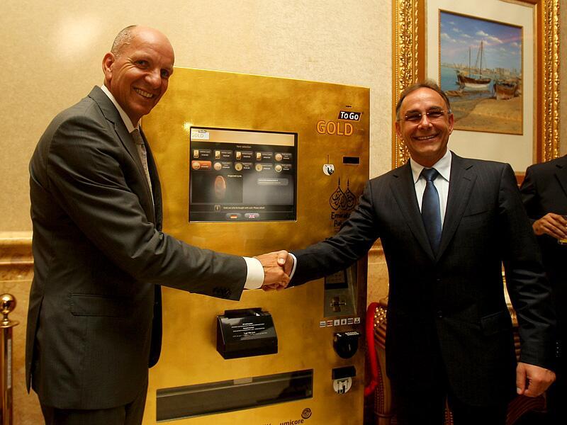 Bild zu Goldautomat