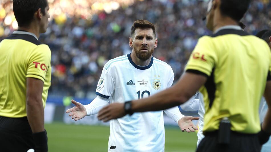 Copa America - Argentinien - Chile, Lionel Messi